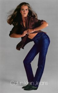 denim Brooke Shields Calvin Kein Jeans