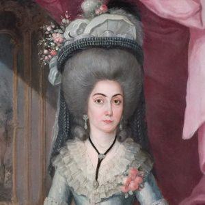 Doña María Catalina de Urrutia por José Campeche