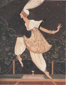 Paul Poiret Georges Lepape 1911 harem